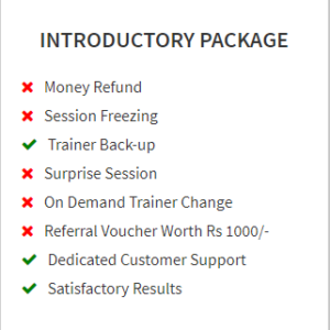 Introductory Package
