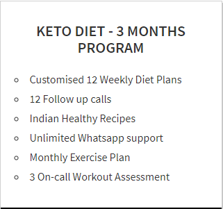 Keto Diet 3 Months Program