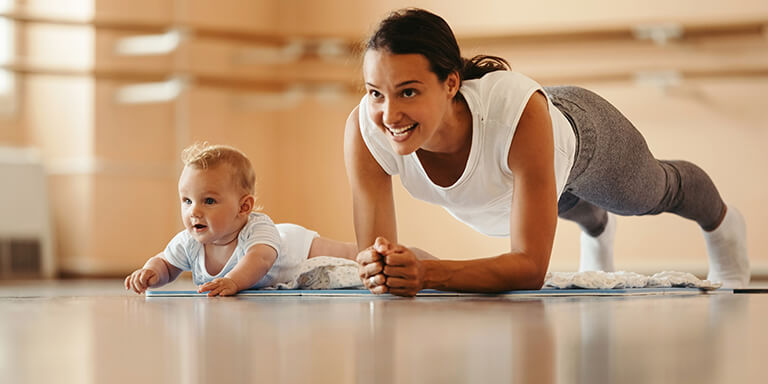 Yoga exercises to lose post-pregnancy weight gain ...