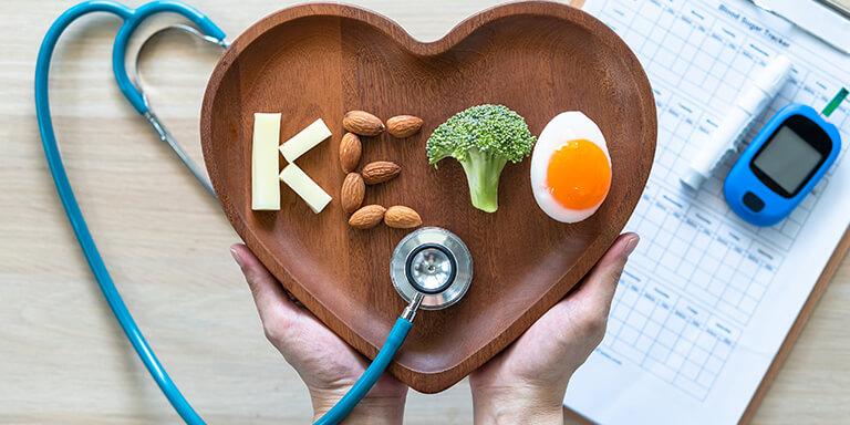Vliv keto diety na diabetes  a cukrovku